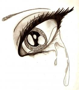 My Eyes Only Cry....
