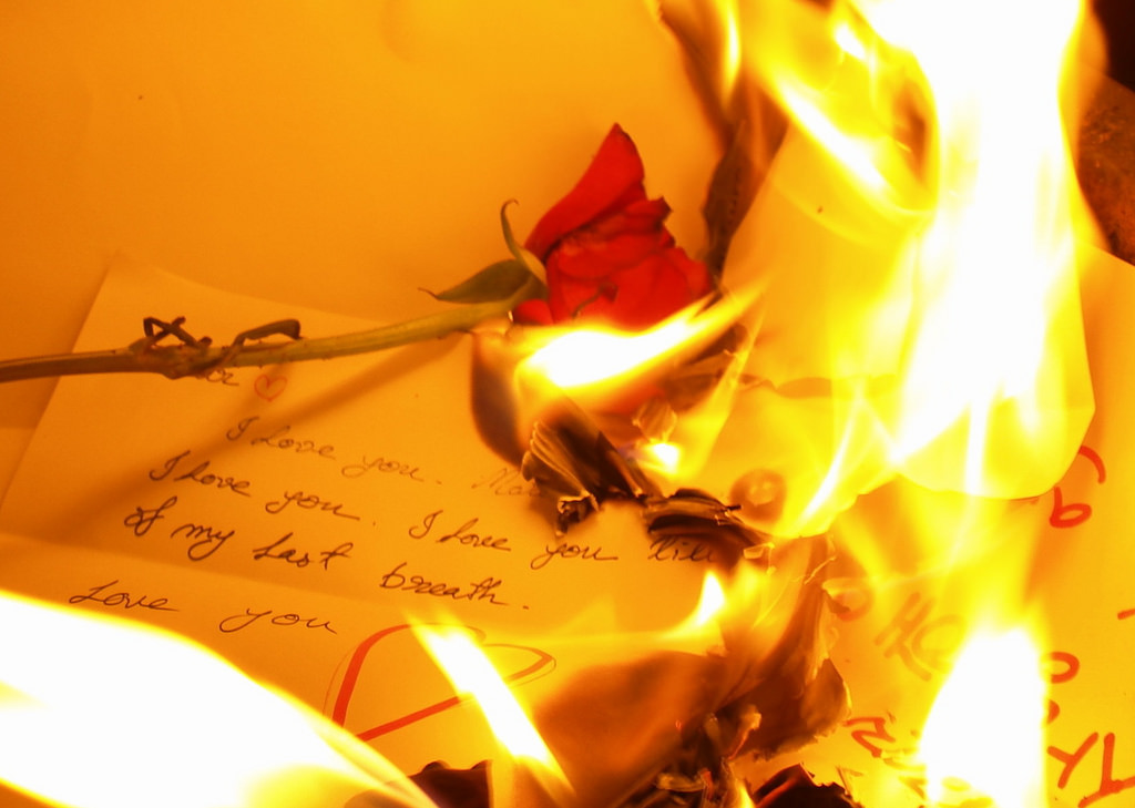 Love Letter on Fire   Typotic